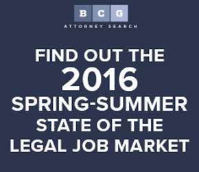 legal job market